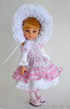 Комплект одежды для девочек от Паола Рейна / Одежда для кукол / Шопик. Продать купить куклу / Бэйбики. Куклы фото. Одежда для кукол