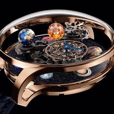 Jacob & Co's newest and most stellar model: Astronomia Solar premiering at #Baselworld2017  See the intricate details of the wearable solar system on @forbeslife - link in our bio!