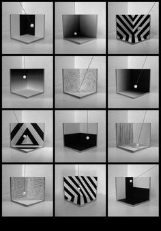 During the niches of architects and designers began experimenting with supergraphics to emulate the spatial effects of architecture. 1980s Art, Sign System, Graphic Art, Graphic Design, Exhibition Booth, Design Language, Environmental Graphics, Booth Design, Op Art