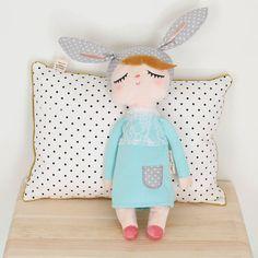 Muñeca Little Rabbit Verde Menta