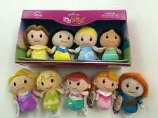 Hallmark ITTY BITTYS - DISNEY PRINCESS - Set of 9 - Ariel SnowWhite Belle Frozen