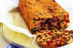 Cut a slice of this fruit cake for afternoon tea - go on - you deserve it!
