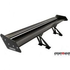93 01 Subaru Impreza Megan Racing 56 quot Black Aluminum Trunk Spoiler Wing