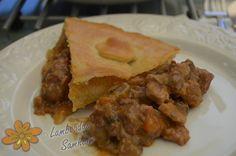 Lamboadas de Samhaim: Meat Pie-Pastel de carne
