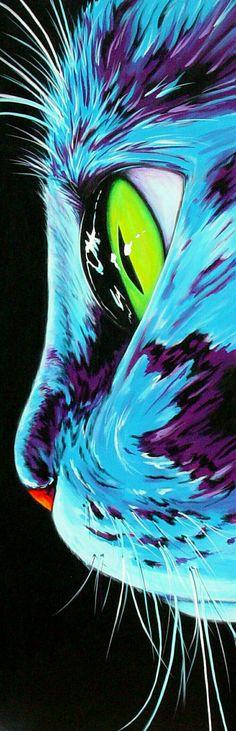 #art#cat#greeneye