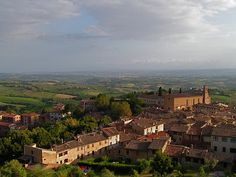 san Gimignano  It. by rondendikken, via Flickr