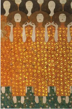 Gustav Klimt: Beethovenfries (1902) - Sezession, Wien