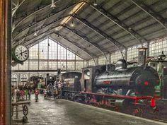 Museo del ferrocarril, antigua estación de Delicias
