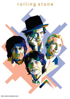 Mick Jagger Rolling Stones, The Rolling Stones, Daft Punk, Rollin Stones, Play That Funky Music, Keith Richards, Psychedelic Art, Stone Art, Hard Rock