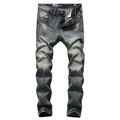 Dsel High Quality Recommend Mens Jeans Denim Pants Regular Fit Jeans Men New Famous Brand Jeans With Logo Plus Size