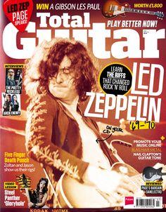 Total Guitar 255. #LedZeppelin!