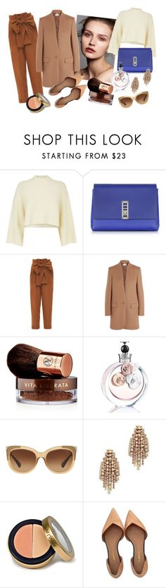 """Bez tytułu #127"" by marta81-1 ❤ liked on Polyvore featuring Jaeger, Proenza Schouler, Jonathan Saunders, STELLA McCARTNEY, Vita Liberata, Valentino, Coach, Elizabeth Cole, Jane Iredale and 3.1 Phillip Lim"