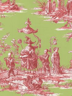 Interior Place - Lime SH80504 Asian Toile Wallpaper, $32.99 (http://www.interiorplace.com/lime-sh80504-asian-toile-wallpaper/)