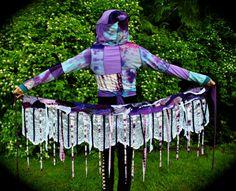 Pixie wrap Skirt, Lace and Scrap skirt, Hippie skirt, Fairy Clothing, Festival skirt
