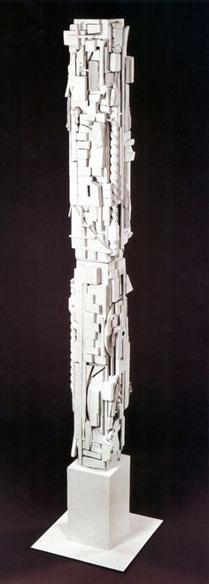 Louise Nevelson, White Column, From: Dawn's Wedding Feast, 1959