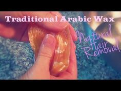 Arabic Wax for Natural hair removal! This is a little different than other sugaring methods I've shown you before, but just as easy! ♥♥♥