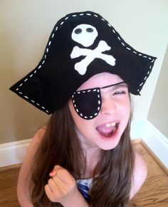 Items similar to Pirate Play Set on Etsy Deco Pirate, Pirate Day, Pirate Birthday, Pirate Theme, Space Pirate, Costume Halloween, Pirate Costume Kids, Fall Halloween, Kids Pirate Hat