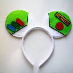 Buzz Light Year Custom Made Mouse Ears by MakeMeMinnie on Etsy