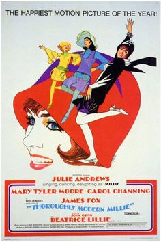 Thoroughly Modern Millie 11x17 Movie Poster (1967) | eTriggerz for Wall Decor, Accents and Furniture | www.etriggerz.com | Santa Ana, California