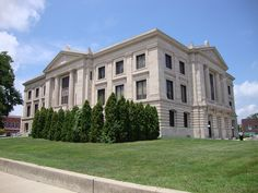 Hendricks County Courthouse (Danville, Indiana) by courthouselover, via Flickr  The County was  named for Indiana Governor William Hendricks, who was serving at the time the County was formed.