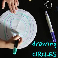 Drawing circles game.