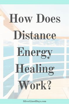 Energy is not limited by time or space. That's why a Reiki practitioner does not need to be close to someone in order to perform Reiki!   energy healing | holistic healing | alternative health | chakras | holistic wellness | metaphysical | alternative medicine