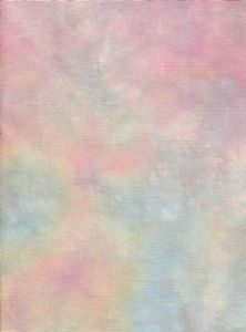Hand-dyed Aida Cloth-Petal Pink-11 Count thru 18 Count DMC cross-stitch fabric