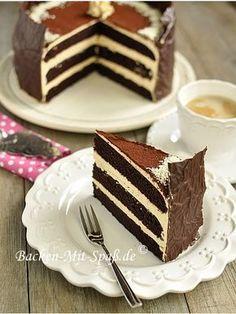 Schoko- Karamell- Torte - Rezept