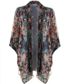 LOVE Demi Print Kimono - In Love With Fashion