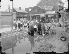 Esplanade and Dauphine Streets, ca. 1906