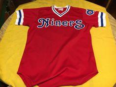 a87bb03c4 early 1980 s OKLAHOMA CITY 89ers ORIGINAL GAME WORN MINOR LEAGUE BASEBALL  JERSEY