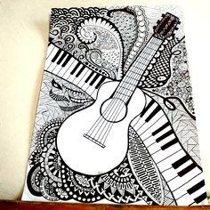 Doodle Art Drawing, Zentangle Drawings, Mandala Drawing, Zentangles, Art Drawings Beautiful, Cool Art Drawings, Pencil Art Drawings, Mandala Art Lesson, Mandala Artwork