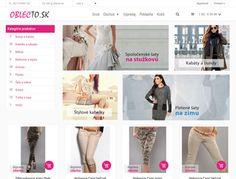 Tvorba e-shopu - OblecTo.sk