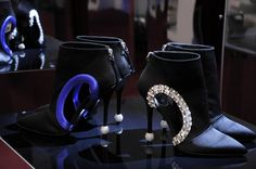 The #luxury statement piece: For FW15/16 Marlène Boots at #RogerVivier Rendez-Vous collection #pfw #coutureweek
