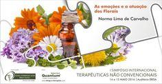 """As emoções e a atuação dos Florais  O Dr. Edward Bach afirmava: """"Tratem o paciente e não a doença"""".  Sobre a oradora: Norma Lima de Carvalho  PROGRAMA & INSCRIÇÕES aqui: http://www.blogdasterapias.com/programa-inscricoes  #1SimpósioInternacionalDeTerapêuticasNãoConvencionais, #ERISA, #TNC, #EscolaSuperiorDeSaúdeRibeiroSanches, #AsEmoçõesEosFlorais, #NormaCarvalho"""