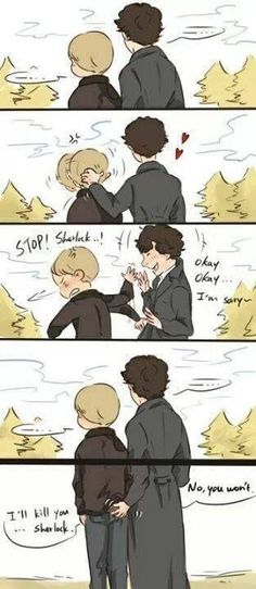 Sherlock - funny. I cried with laughter.