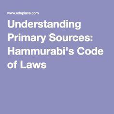 Hammurabi the law giver