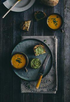 Carrot and Orange Soup / Souvlaki for the Soul