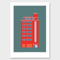 Architectural Print - Anvil House