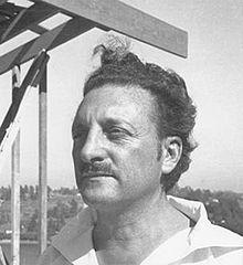 Rudolf Schindler b. 1887 d. 1953. Austrian American architect. California modernist.