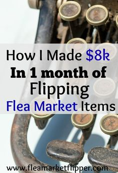 The shortest month of the year turned out to be the most profitable one in the past 12 months of buying and selling flea market items.