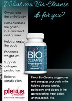 Detox your body! kclarkson.myplexusproducts.com