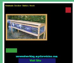 Homemade Outdoor Rabbit Hutch 091705 - Woodworking Plans and Projects!