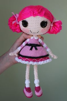 PATTERN Lalaloopsy Toffee Cocoa Cuddles Crochet by epickawaii, $3.99