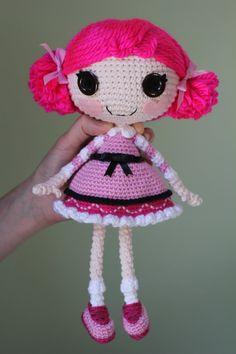 PATTERN Lalaloopsy Toffee Cocoa Cuddles Crochet door epickawaii, $3.99