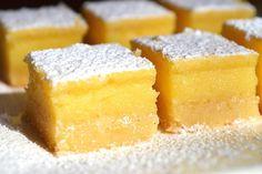 Carrés au citron au Thermomix - Cookomix