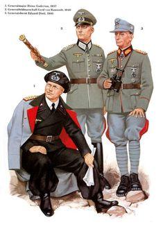Ww2 Uniforms, German Uniforms, Military Uniforms, German Soldiers Ww2, German Army, Military Men, Military History, Uniform Insignia, Germany Ww2