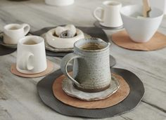 This is a super-simple way to make placemats and coasters that look great and are very affordable.