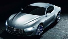 2014 Maserati Alfieri Concept: 4.7 Liter V8 DOHC with 460 Horsepower. 0 to 60 mph in 4.5 seconds. Top Speed of 155 mph.
