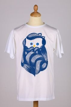 + THE BEARDED / t-shirt + 39,00 € Metroplastique, imagined by SupaKitch & Koralie